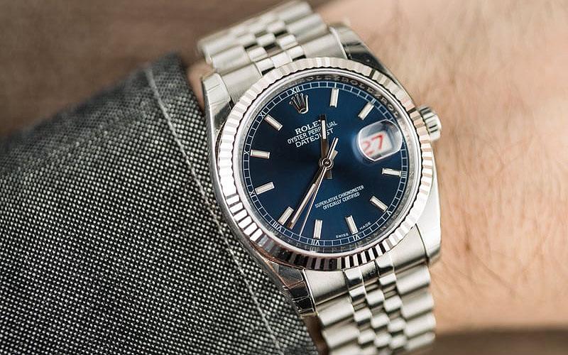 Rolex Datejust 36mm Blue Dial Jubilee Bracelet Replica Review