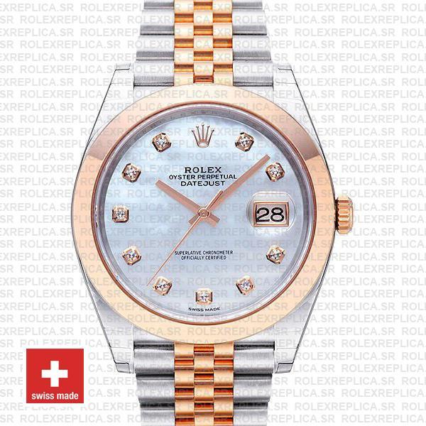 Rolex Datejust 41 Two-Tone Rose Gold Jubilee | Rolex Replica