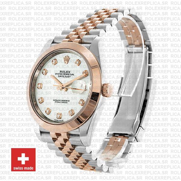 Rolex Datejust 41 Two-Tone Rose Gold Jubilee Bracelet