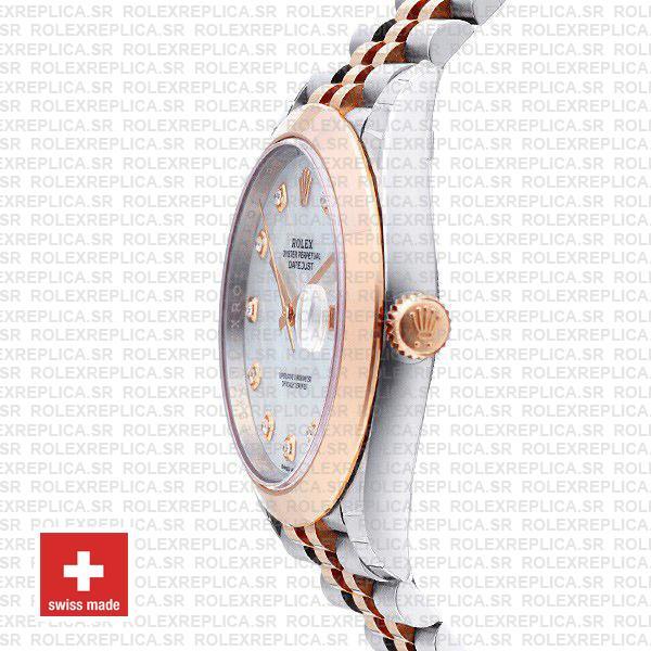 Rolex Datejust 41 Two-Tone Rose Gold Jubilee Rolex Replica