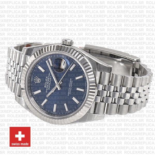 Rolex Datejust 41mm Blue Dial Jubilee Watch Rolex Replica Watch