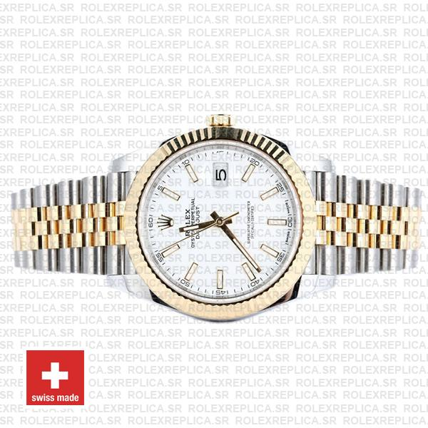 Rolex Oyster Perpetual Datejust 41 Jubilee Two-Tone 18k Yellow Gold