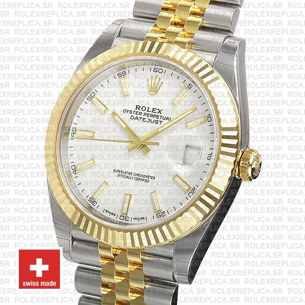 Rolex Oyster Perpetual Datejust 41 Jubilee Two-Tone