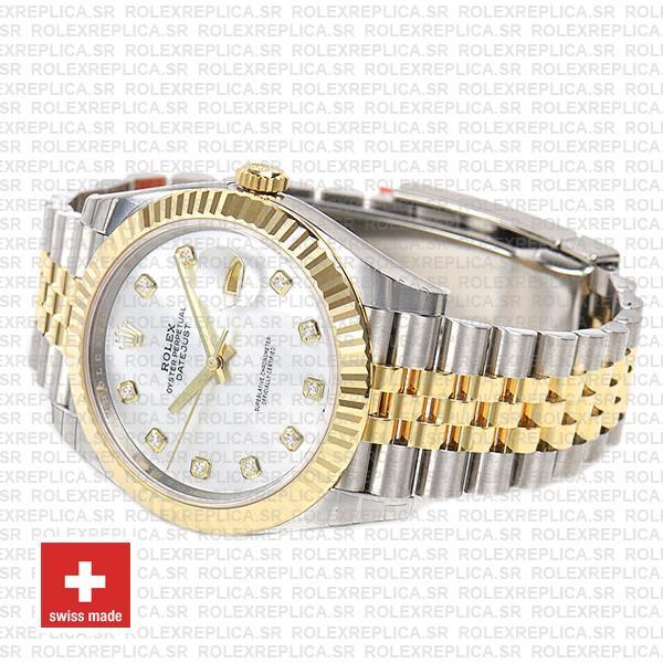 Rolex Datejust 41mm Jubilee Bracelet Two-Tone 18k Yellow Gold