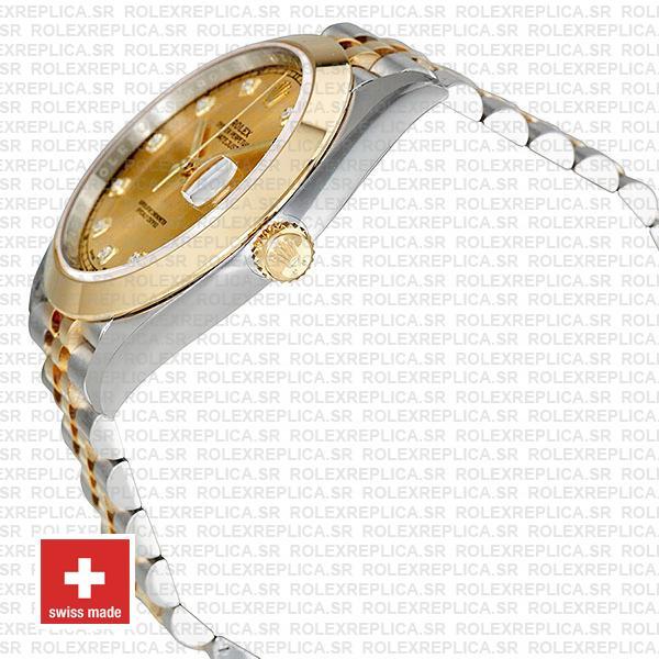 Rolex Datejust 41 Jubilee Two-Tone 18k Yellow Gold 904L Steel