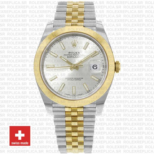 Rolex Datejust 41 Jubilee Two-Tone Stainless Steel 18k Yellow Gold