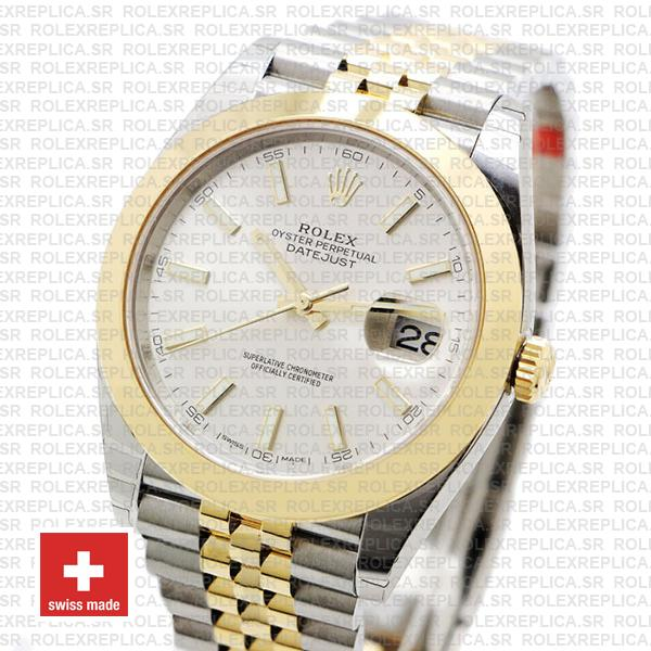 Rolex Datejust 41 Jubilee Two-Tone Stainless Steel