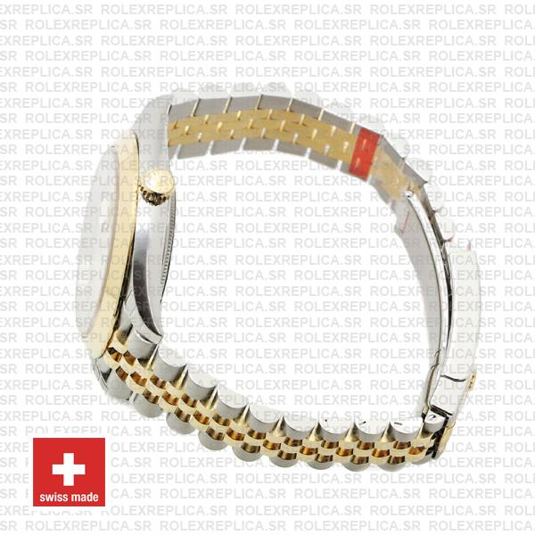 Rolex Datejust 41 Jubilee 2 Tone 18k Yellow Gold Swiss Replica Smooth