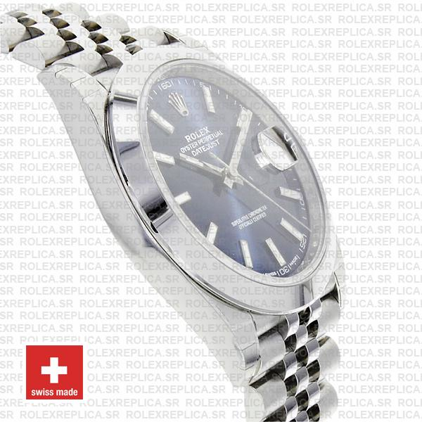 Rolex Oyster Perpetual Datejust 41 904L Steel Blue Dial