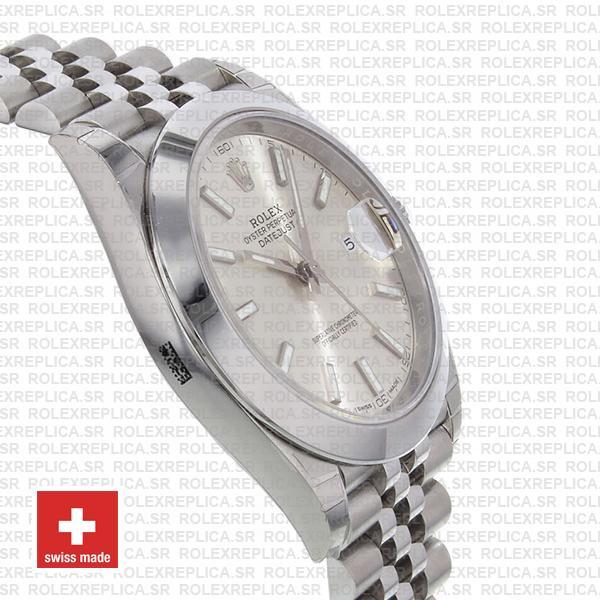 Rolex Datejust 41mm Steel Silver Dial