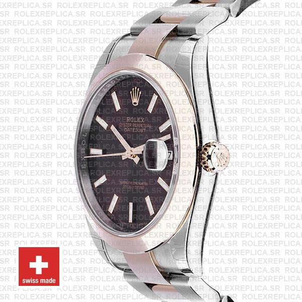 Rolex Datejust 41mm Chocolate Dial Rose Gold