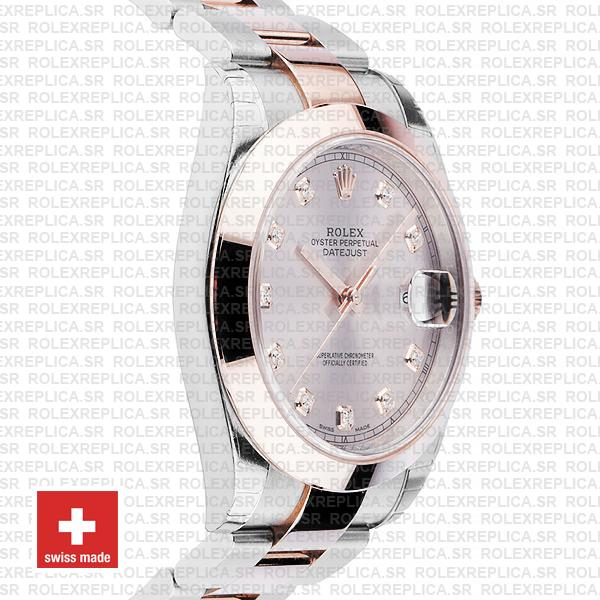 Rolex Datejust 41 Pink Diamond Dial Rose Gold Rolex Replica