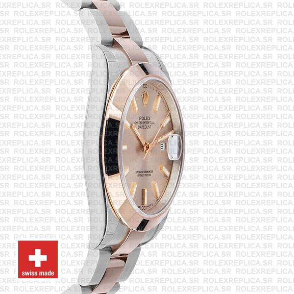 Rolex Datejust 41 Pink Dial Rose Gold Two-Tone Swiss Replica