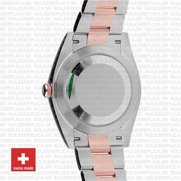 Rolex Datejust 41 Oyster 2 Tone 18k Rose Gold Swiss Replica