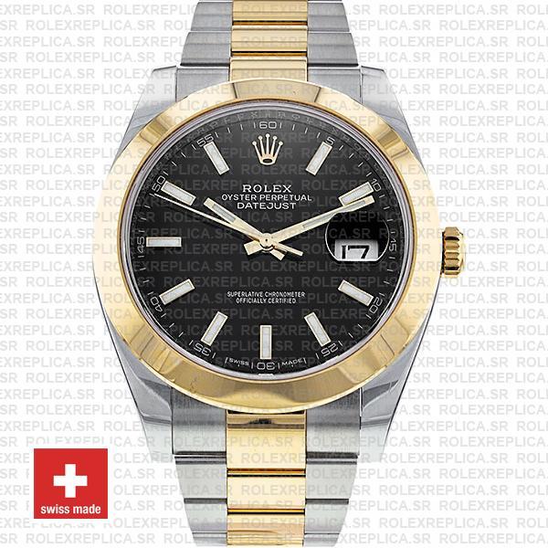 Rolex Datejust Two-Tone 18k Yellow Gold/904L Steel Bracelet