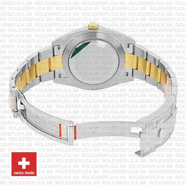 Rolex Datejust 41 Oyster 2 Tone 18k Yellow Gold Swiss Replica