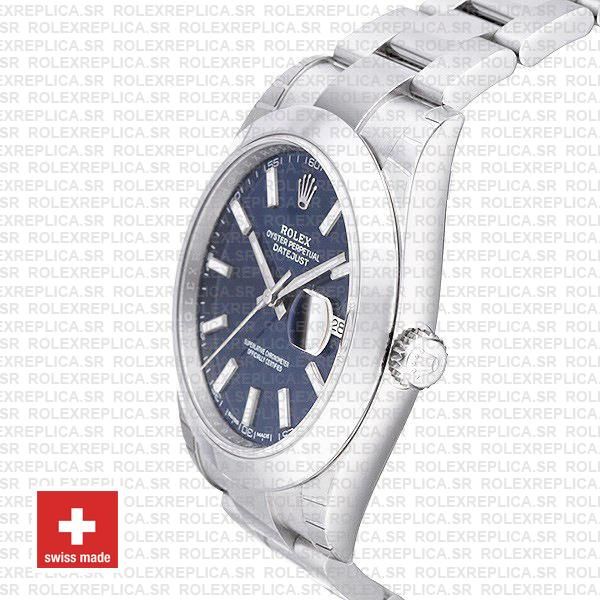 Rolex Datejust 41 Stainless Steel Blue Dial
