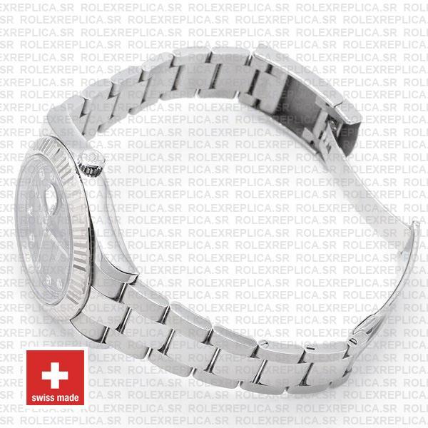 Rolex Datejust ΙΙ Grey Dial Diamonds Replica