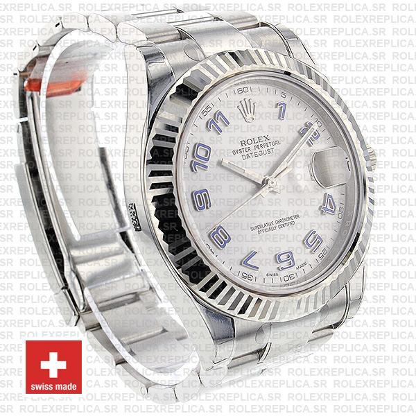 Rolex Datejust ΙΙ 41mm Silver Arabic Dial