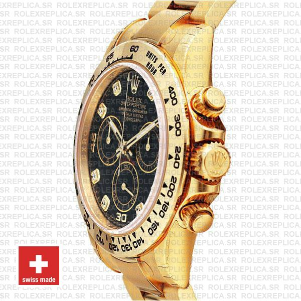 Rolex Oyster Perpetual Cosmograph Daytona 40mm 18k Yellow Gold