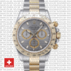Rolex Daytona 2 Tone Stainless Grey Slate 40mm 116523