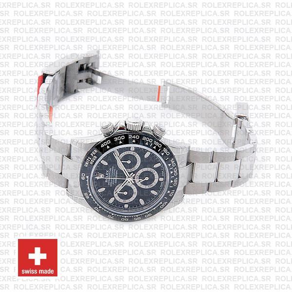 Rolex Daytona Black Dial 2016 Ceramic Bezel 40mm Swiss Replica Watch