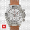 Rolex Daytona Leather Ss White Gold Meteorite 40mm 116519