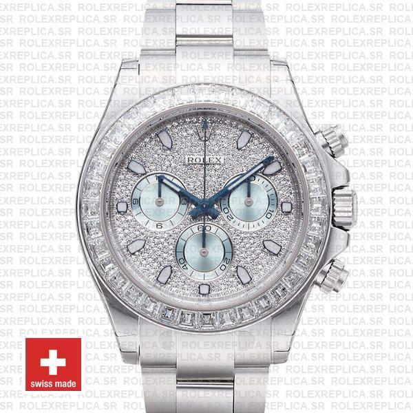 Rolex Daytona Platinum Stainless Steel Watch | Rolex Replica