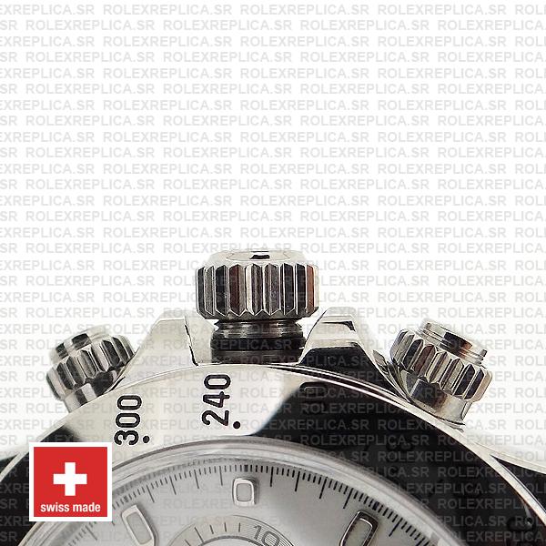 Rolex Daytona Ss White 40mm 116520
