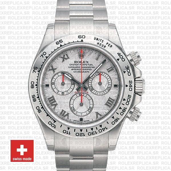 Rolex Daytona White Gold Meteorite Dial | Rolex Replica Watch