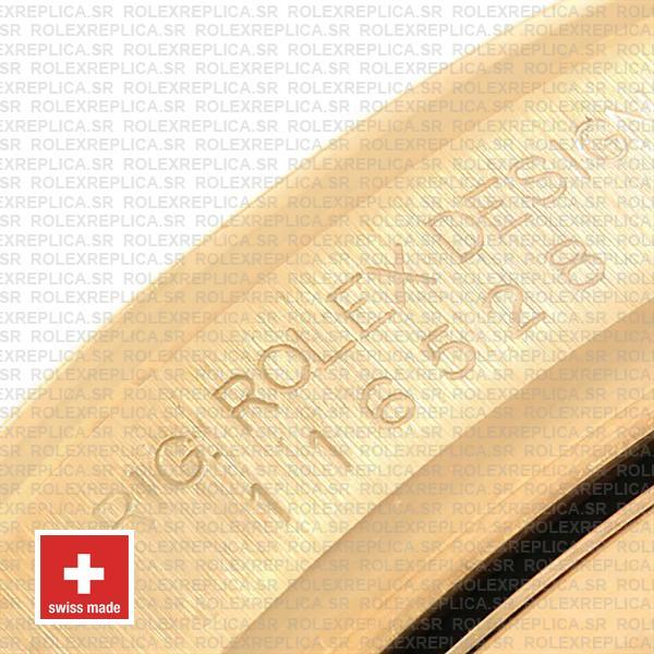 Rolex Daytona Yellow Gold Swiss Replica 116528