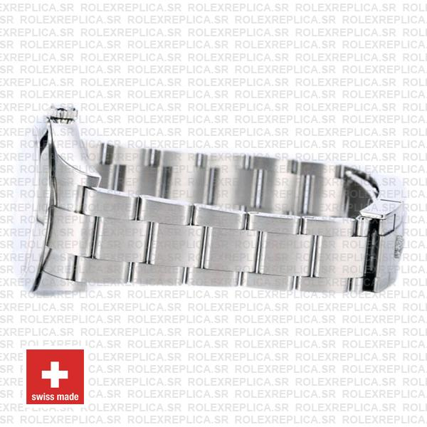 Rolex Explorer 1 904L Steel Black Dial, Stainless steel Oyster Bracelet & Smooth Bezel 39mm