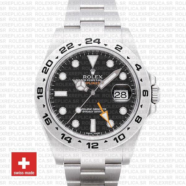 Rolex Explorer Ii Black 42mm Swiss Replica 216570