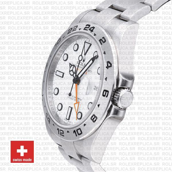 Rolex Explorer II 42mm White Dial | Rolex Replica Watch