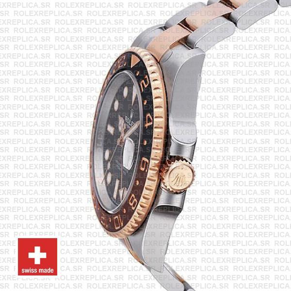 Rolex GMT-Master II Rose Gold Two Tone Replica Watch