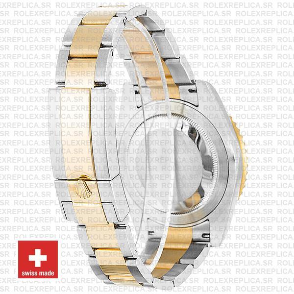 Rolex GMT-Master II 18k Yellow Gold Two-Tone Black Dial 40mm Ceramic Bezel