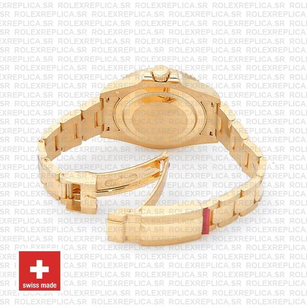 Rolex GMT-Master II Green Face Gold Oyster Bracelet
