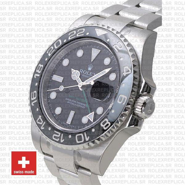 Rolex GMT-Master II Black Ceramic Bezel Rolex Replica Watch