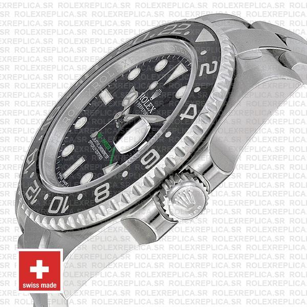 Rolex GMT-Master II Black Ceramic Bezel Replica Watch