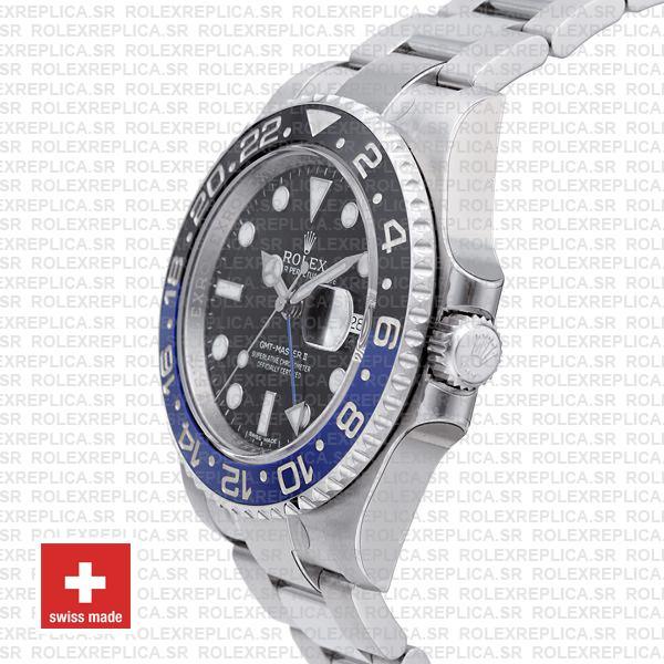Rolex GMT-Master II Blue Black Ceramic Swiss Replica Watch