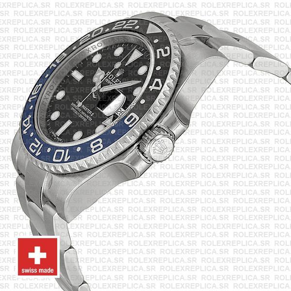 Rolex GMT-Master II Blue Black Ceramic Replica Watch