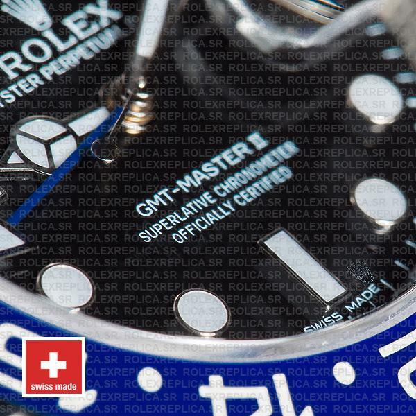 Rolex GMT-Master II Blue Black Ceramic Replica
