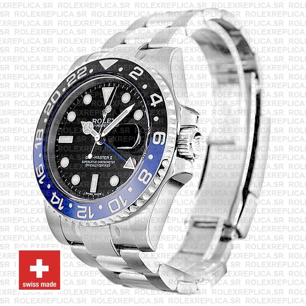Rolex GMT-Master II Blue Black Ceramic Watch