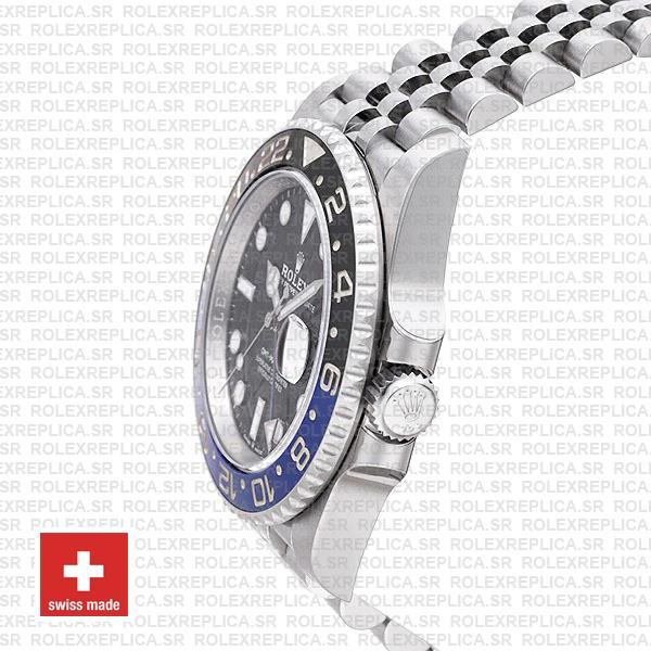 Rolex GMT-Master II 40mm Batman Blue Black Ceramic Bezel Swiss Replica Watch