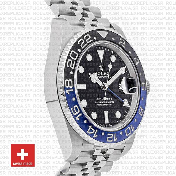 Rolex GMT-Master II Batman Black Dial 40mm Blue Black Ceramic Bezel