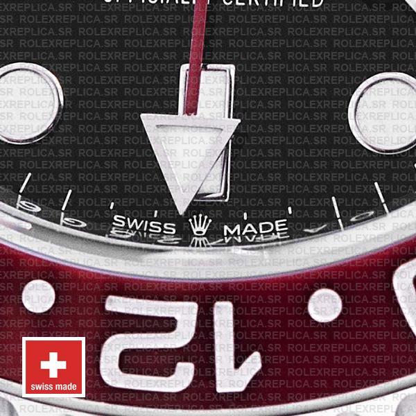 Rolex GMT-Master II Pepsi Red Blue Ceramic Bezel Steel Jubilee Bracelet Replica Watch