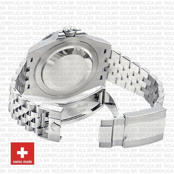 Rolex GMT-Master II Jubilee Bracelet 40mm Pepsi Bezel Swiss Replica