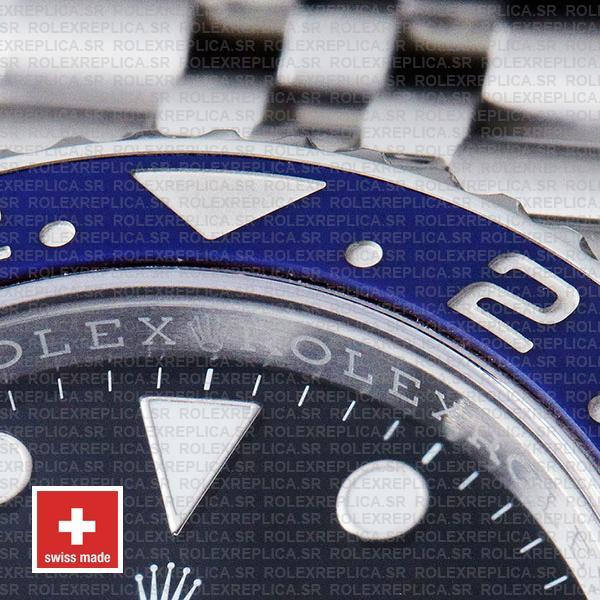 Rolex Gmt Master Ii Steel Jubilee Pepsi Bezel 126710blro 40mm