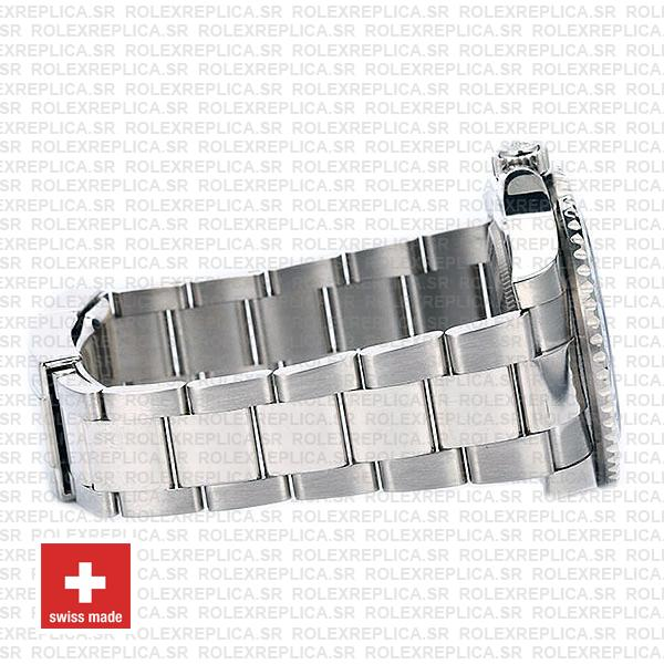 Rolex GMT-Master II 40mm Pepsi Red Blue Ceramic Bezel in Stainless Steel 18k White Gold Watch