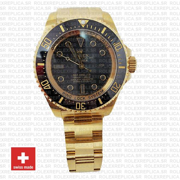 Gold Deepsea Swiss Replica